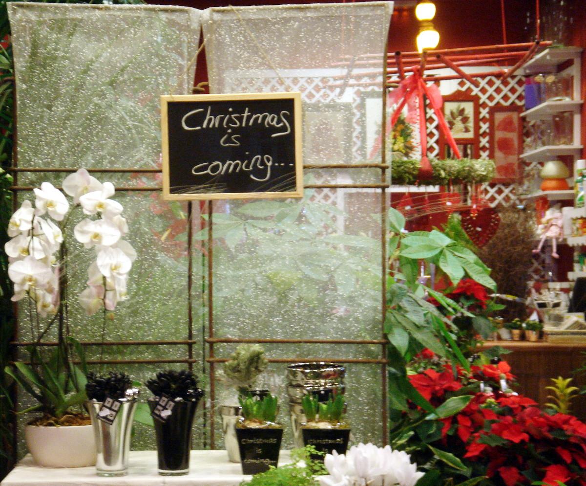 La navidad se está corriendo